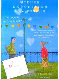 Exposition : Peintures Line Bonfils