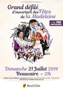 Grand défilé d'ouverture des Fêtes de la Madeleine