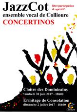 Jazz Cot, ensemble vocal de Collioure
