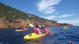 Location Kayak 2 Places 1h - Activités Collioure