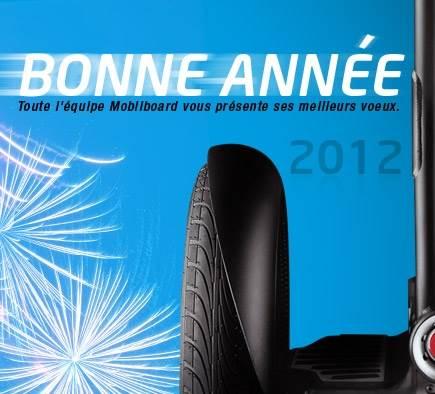 Mobilboard vous souhaite une année 2012 surprenante !
