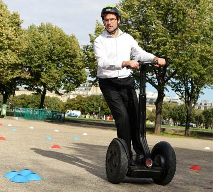 Incentive : Rallye urbain numérique d'envergure à gyropodes Segway !