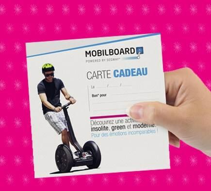 Offrez une carte cadeau Mobilboard !
