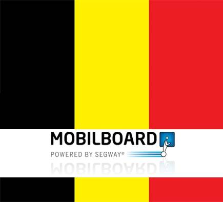 Mobilboard annonce l'ouverture d'une première agence de location de gyropodes Segway en Belgique !