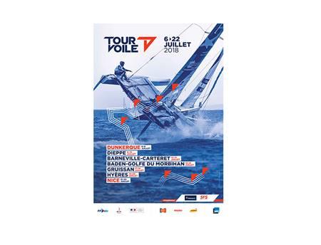 Tour de France à la Voile 2018 : Etape à Baden - Golfe du Morbihan