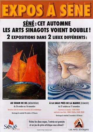 Exposition d'Automne - Arts Sinagots