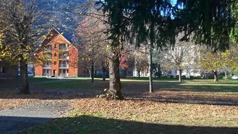 Parc et résidence