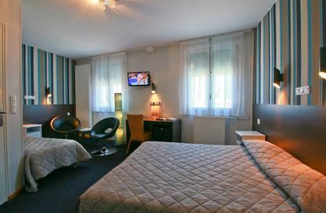 Chambre triple Hôtel Panoramic