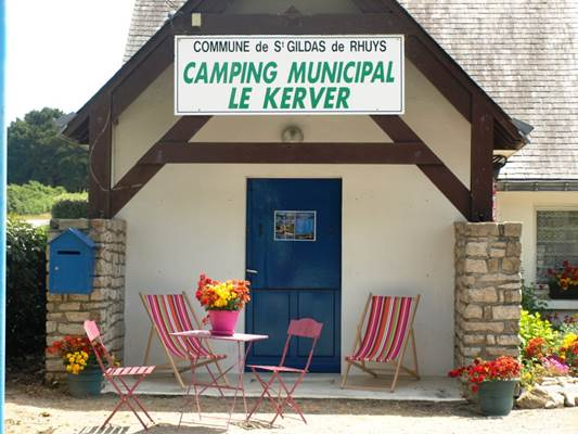 Camping-municipal-du-Kerver-Accueil-Saint-Gildas-de-Rhuys-Morbihan-Bretagne Sud Camping Municipal du Kerver