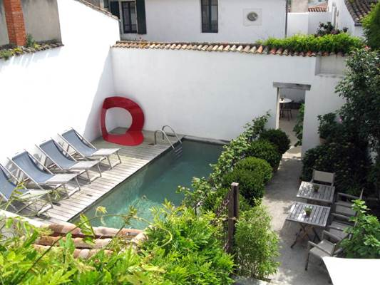Hôtel Le Sénéchal - la piscine