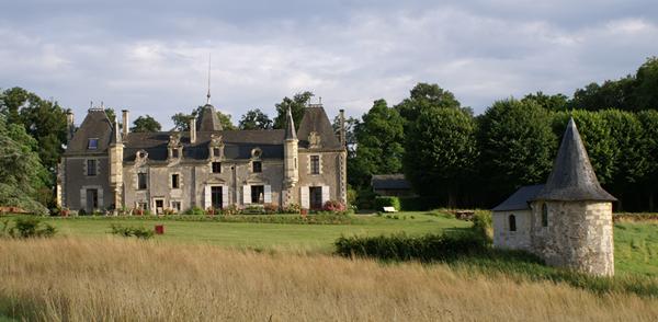 Château de la Giraudière en Val de Loire 49320