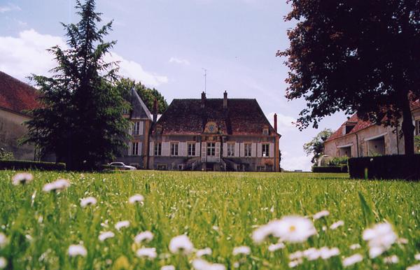 Château de Nyon - vue du jardin