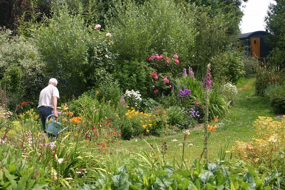 Jardin champêtre