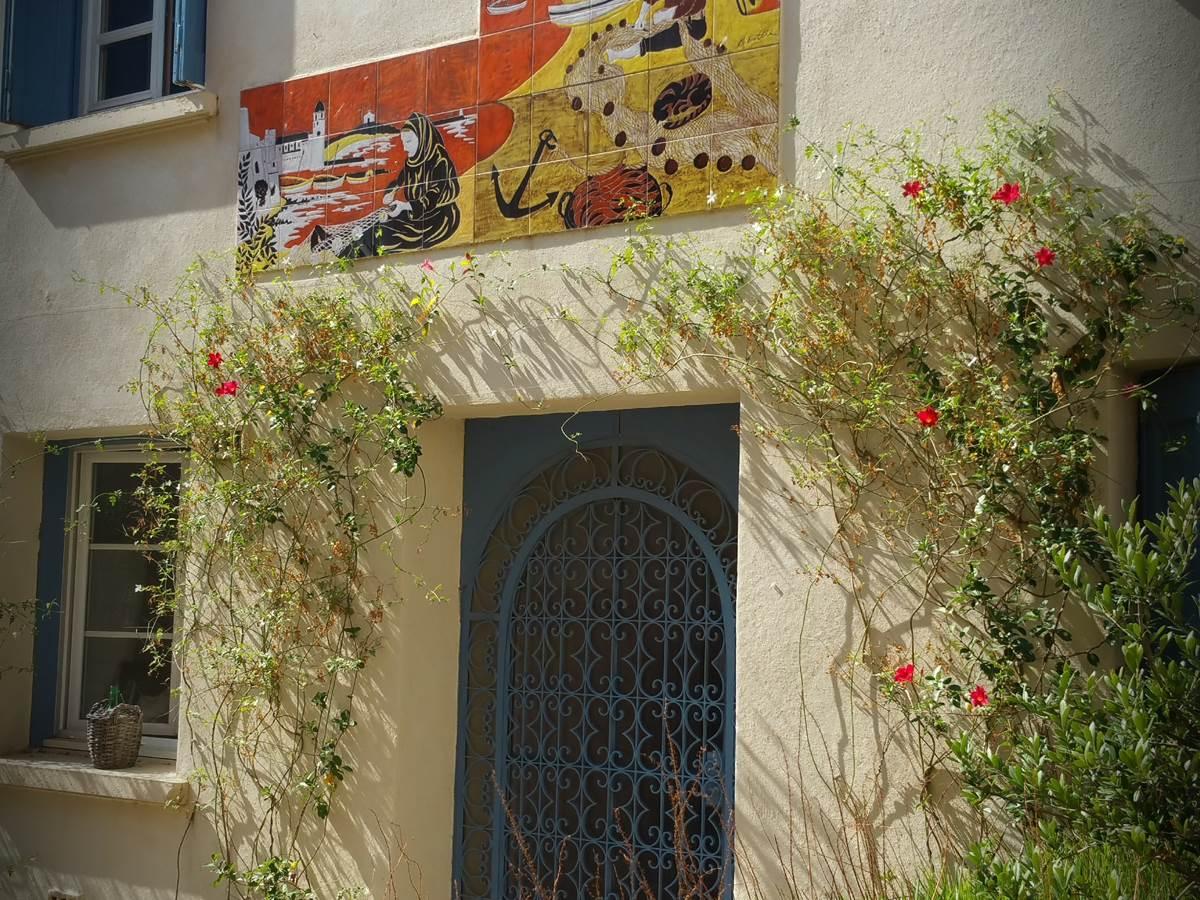 Location Collioure - Résidence Soleil - Entrée