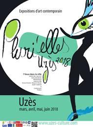 Pluri'elles: expositions d'art contemporain à travers Uzès