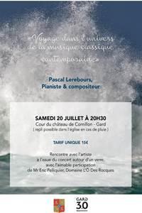 """Concert """"Voyage dans l'univers de la musique classique contemporaine"""""""