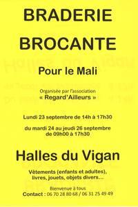 Braderie Brocante pour le Mali