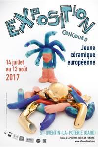 Exposition concours jeune céramique européenne