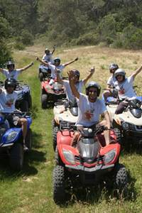Escapade nature en quad