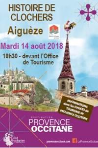 Histoire de clochers à Aiguèze