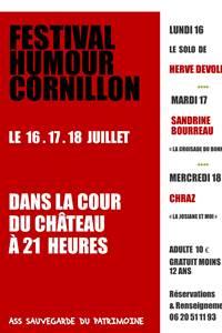 Festival d'Humour à Cornillon