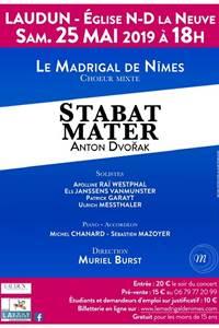 Stabat Mater - interprété par le Madrigal de Nîmes