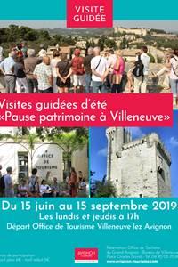 """Visites guidées d'été """"Pause Patrimoine à Roquemaure"""""""