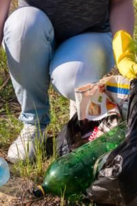 Nettoyage de l'Hérault à Val d'Aigoual