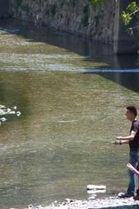 animation pêche à la mouche
