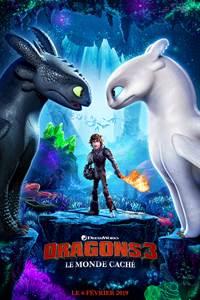 "Cinéma enfants ""Dragons 3"""