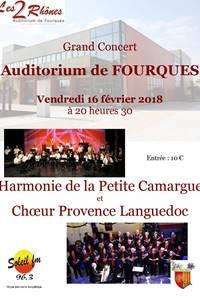 Choeur Provence Languedoc et Harmonie de Petite Camargue
