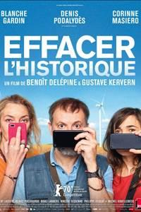 """ANNULÉ Cinéma """"Effacer l'historique"""""""