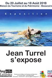 Jean Turrel s'expose