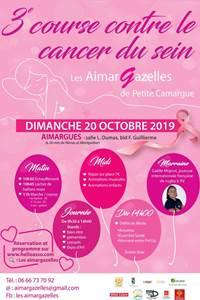 Les AimarGazelles, 3ème course contre le cancer du sein