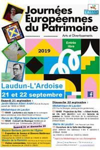Journées du Patrimoine de Laudun l'Ardoise