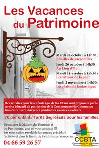 """Les Vacances du Patrimoine"""" Les plafonds fantastiques"""""""