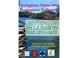 Clean up! Operation cleaning in Collioure