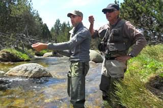 Michel Gimenez, moniteur et guide de pêche