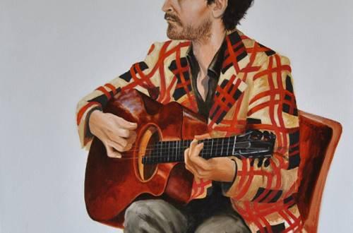 Sylvie Roussel Méric Guitariste de Jazz Manouche © Sylvie Roussel Méric
