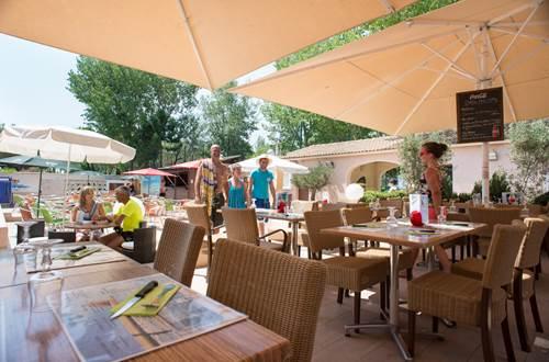 terrasse du restaurant ©