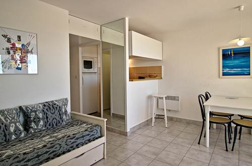 Salon appartement T2 ©