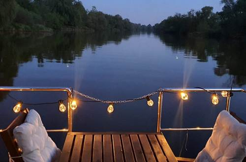 le soir sur le canal ©