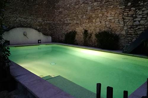Pool by night chez Envie de Sud ©
