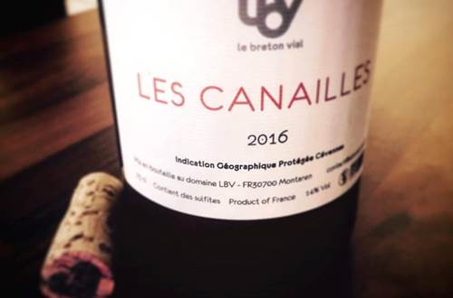 LBV cuvée Canailles © LBV
