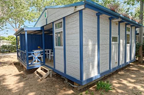 Lodge Confort 2 Personnes Camping de l'Espiguette © LEGDRDEV