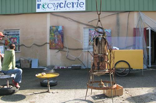 le Recyclerie d'Anduze ©
