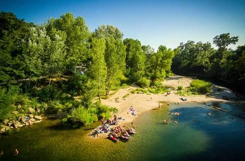 Camping Les Genêts d'Or © Sud de France Développement