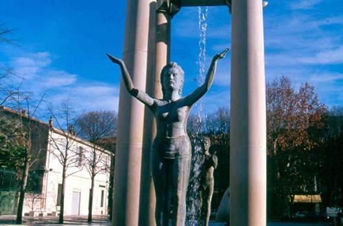 Nîmes - Place d'Assas ©