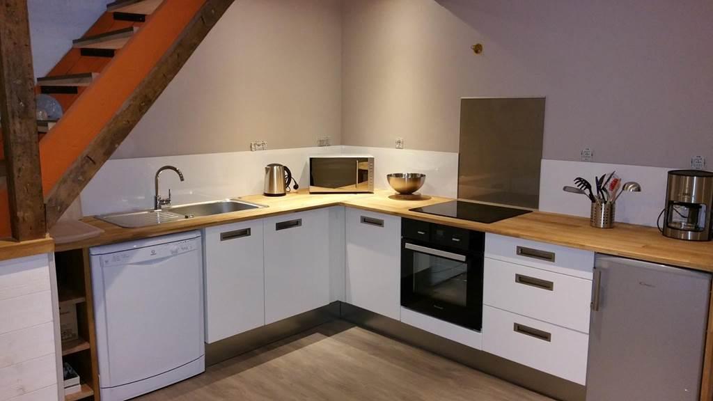 l'espace cuisine